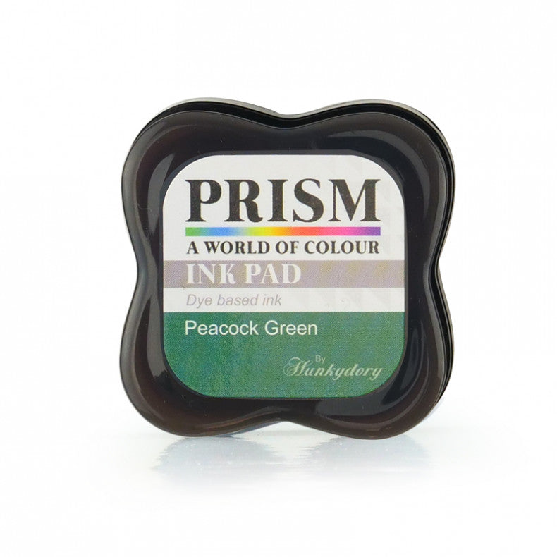 Hunkydory - Prism Dye Ink Pad - Peacock Green