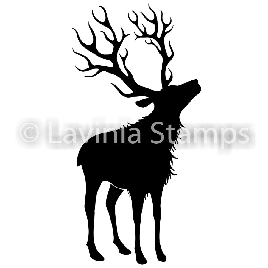 Lavinia - Reindeer (large) - Clear Polymer Stamp