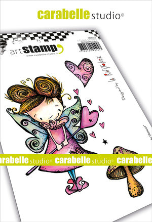 Carabelle Studio - Rubber Cling Stamp Set A6 - Fairy of Love - La Rafistolerie