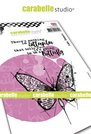 Carabelle Studio - Cling Stamp Set A6 - Spread Your Wings - by Ana Bondu