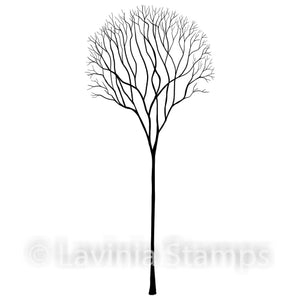 Lavinia - Skeleton Tree - Clear Polymer Stamp