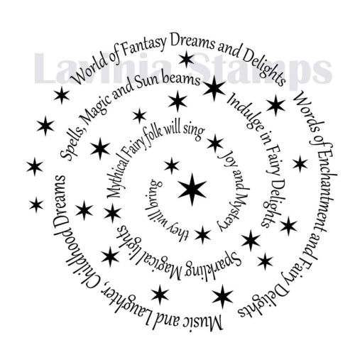 Lavinia - Spiral of Spells - Clear Polymer Stamp