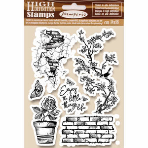 Stamperia - A5 - Foam Mounted Stamp Set - Enjoy