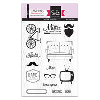 Sokai - Clear Stamp Set - A6 - Mister Hipster