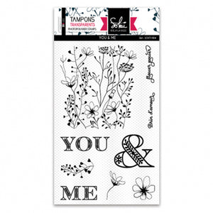 Sokai - Clear Stamp Set - A6 - You & Me