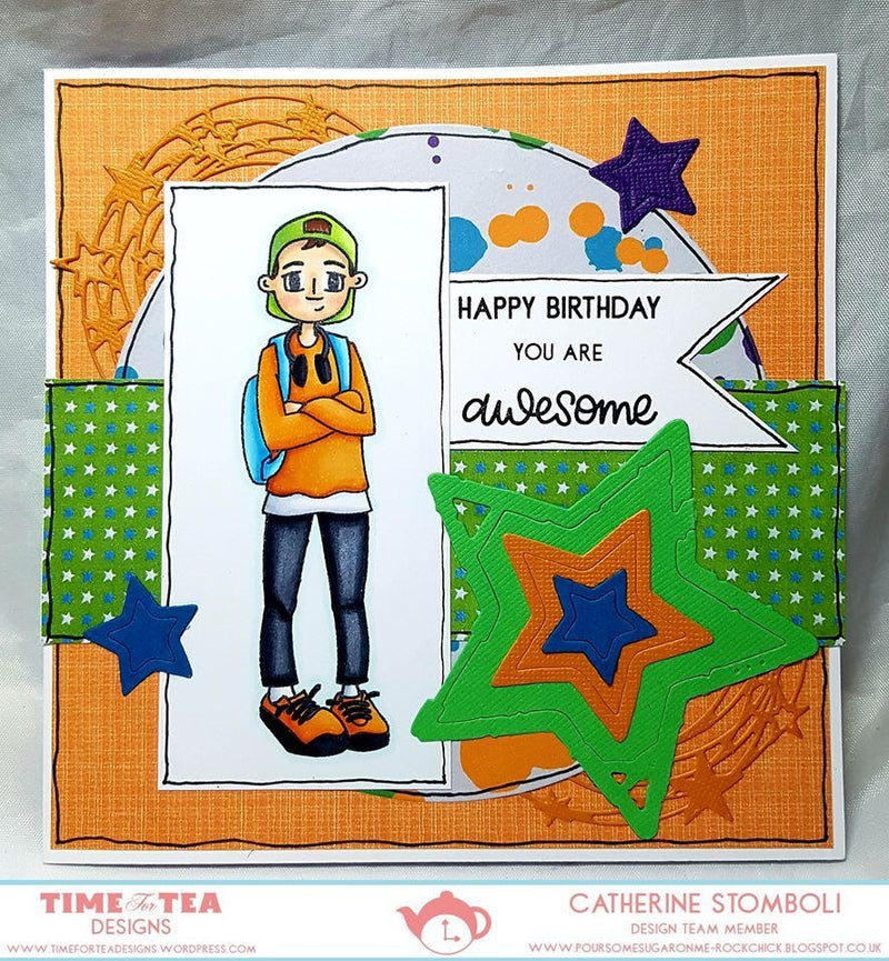 Time For Tea - Clear Stamp Set - You're a Star