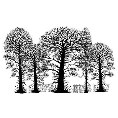 Lavinia - Trees - Clear Polymer Stamp