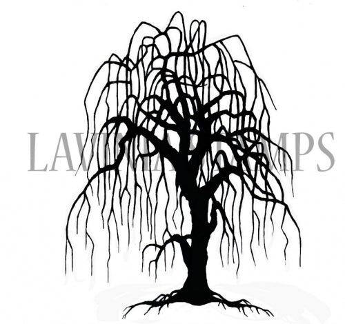 Lavinia - Weeping Willow - Clear Polymer Stamp