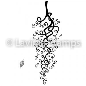 Lavinia - Whimsical Wisps - Clear Polymer Stamp