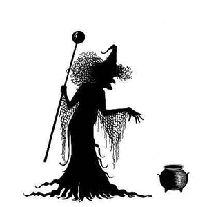 Lavinia - Willow the Witch - Clear Polymer Stamp