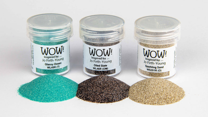 WOW! Embossing Powder - Trio - Dockside - Jo Firth Young - JOFY