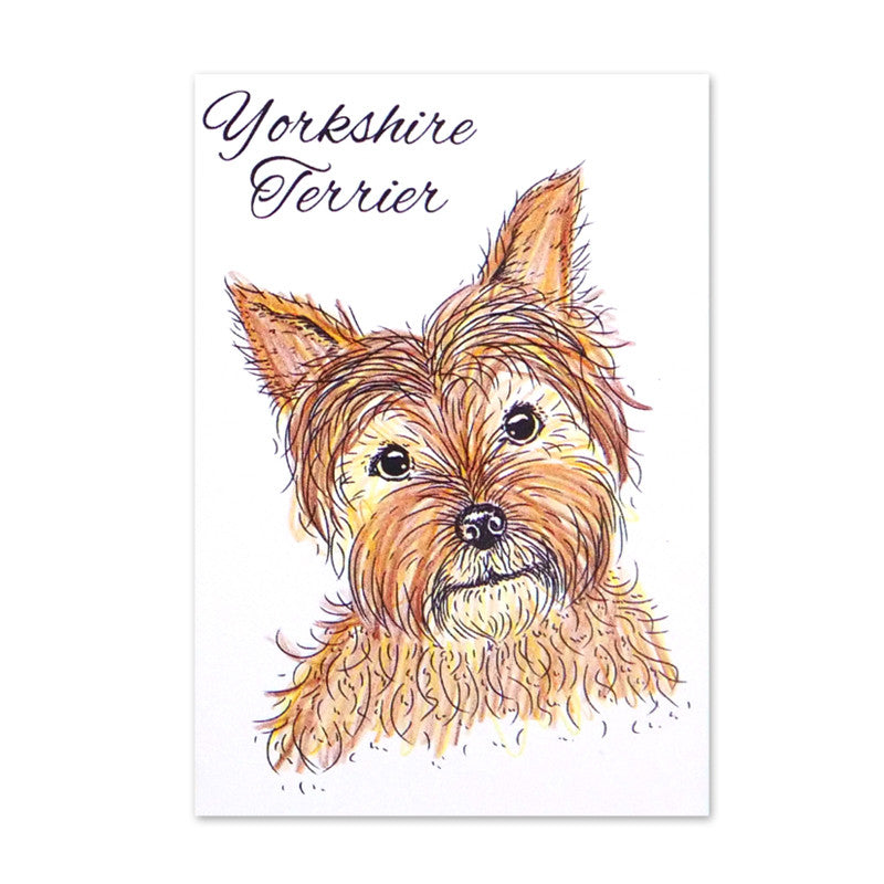 For the Love of Stamps - Dog - Yorkshire Terrier - Yorkie
