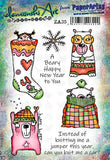PaperArtsy - Zinski Art 35 - Rubber Cling Mounted Stamp Set