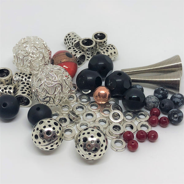 Just a few of the beads I create with!