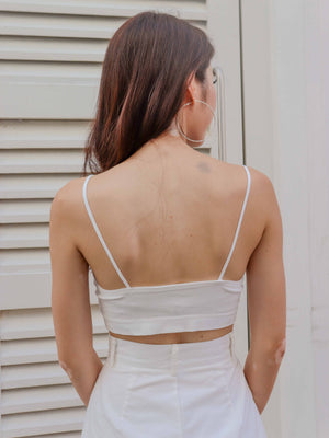 Essential Bralet in White