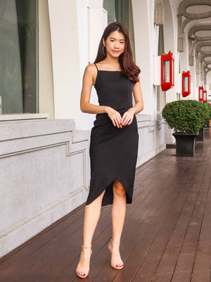 Davo Cocktail Dress in Black
