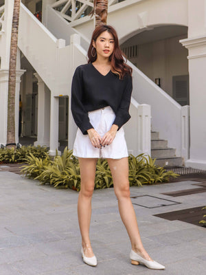 Casey Knit Sweater in Black