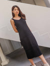 *EXCLUSIVE* Bobi Knit Dress in Black