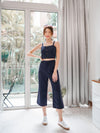Molo Linen 2 Piece Set in Navy