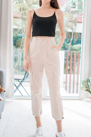 *BACKORDER* Renna Cargo Pants in Sand