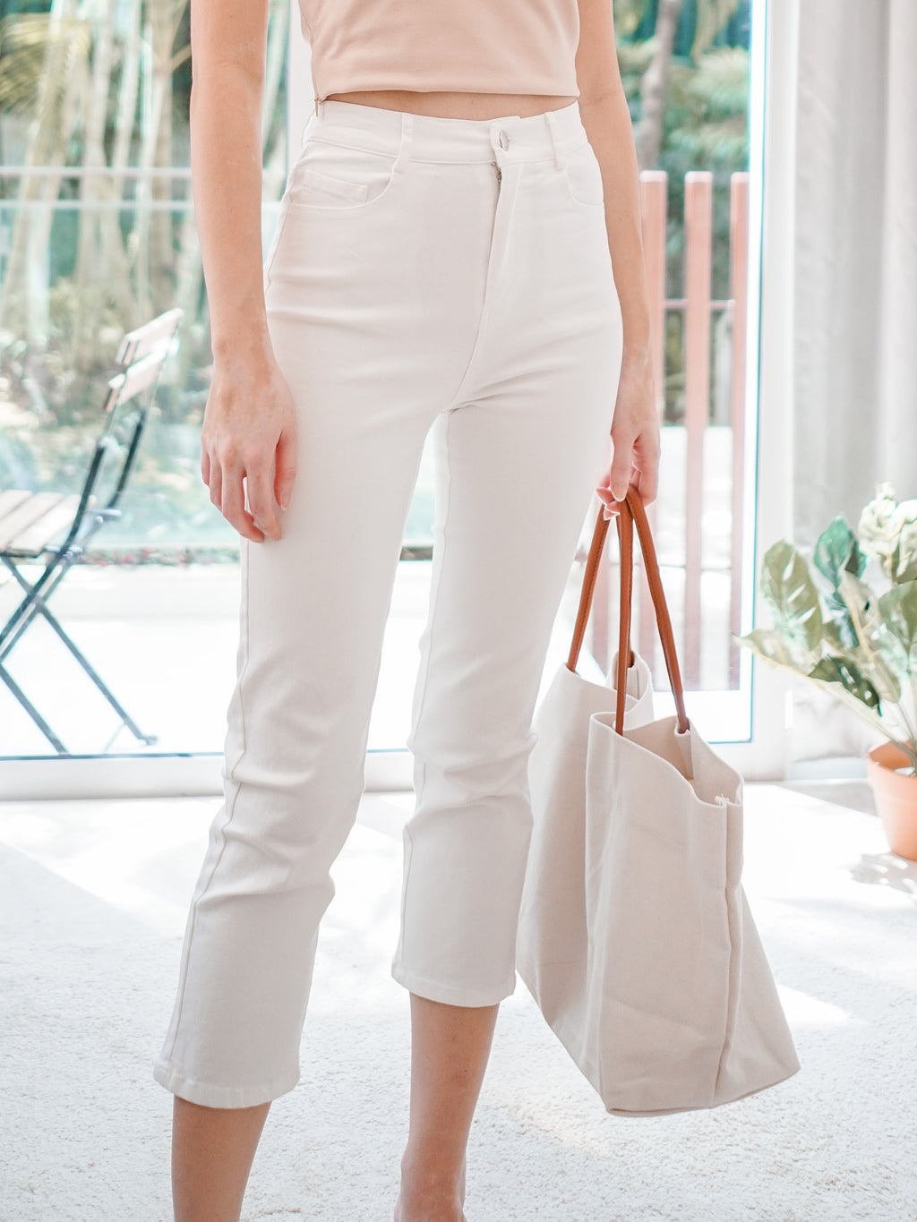 Gemma Jeans in White