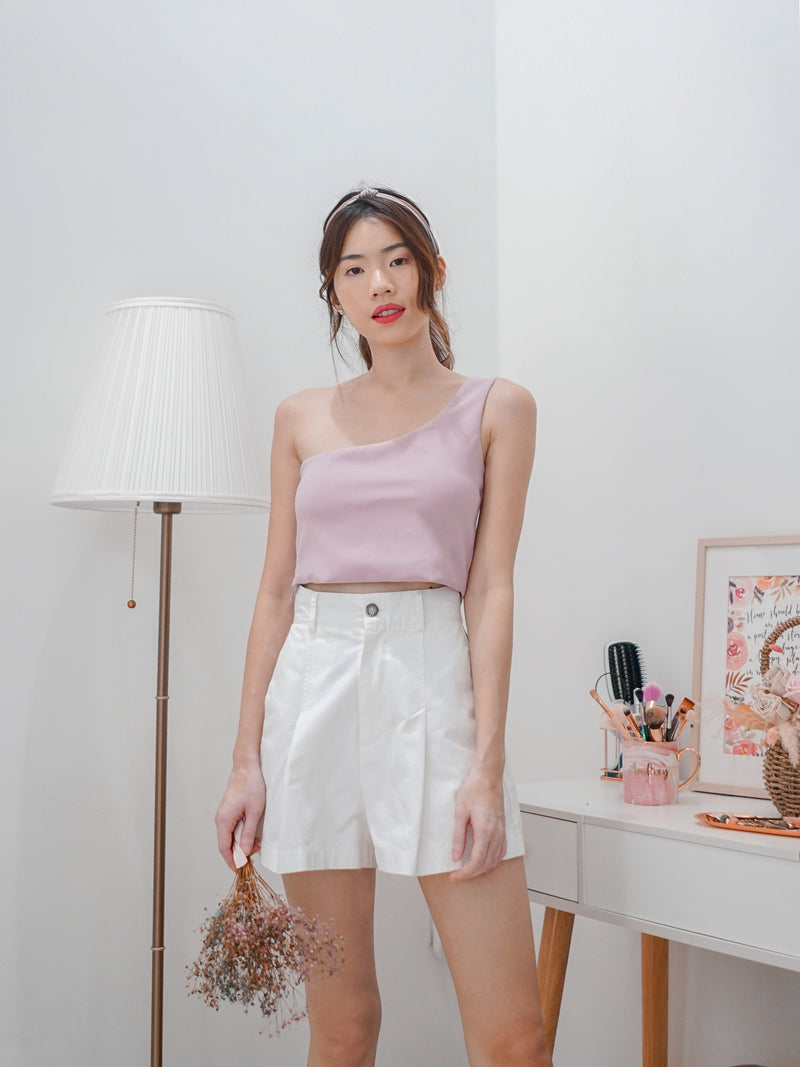 Coco Toga Padded Crop Top in Lilac