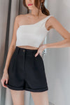 *BACKORDER* Coco Toga Padded Crop Top in White