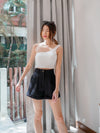 *BACKORDER 2* Yoda High Waist Shorts in Black