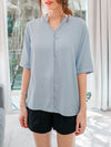 Misha Blouse in Baby Blue