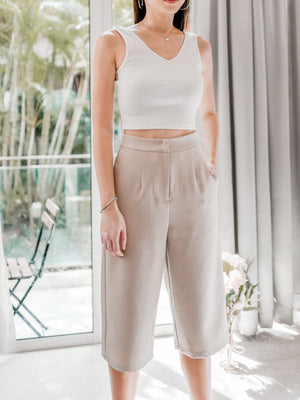 All Time Favourite Culottes in Khaki