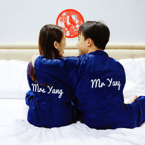 Personalised Bridal Robe in Singapore