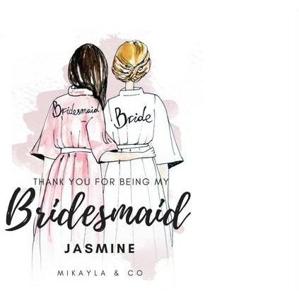 Personalised bridal robes in singapore, Mikayla Singapore Bridesmaids Dress  X Ztyleco Singapore personalised gifts X Solemnisation Rom Dress