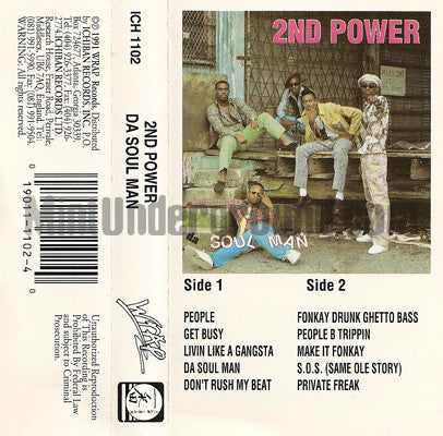 2nd Power: Da Soul Man: Cassette