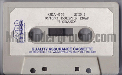 3 Grand: 3 Bad Brothers: Cassette: Promo