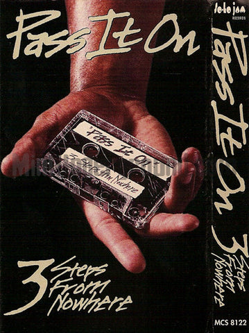 3 Steps From Nowhere: Pass It On: Cassette Single