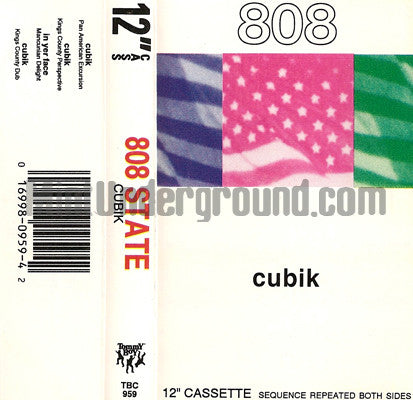 808 State: Cubik: Cassette Single