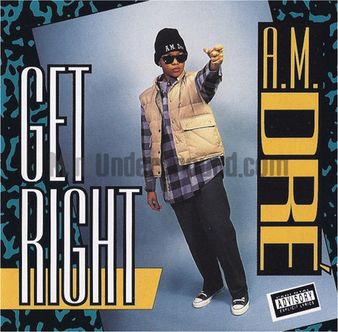 A.M. Dre: Get Right: CD