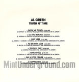 Al Green: Truth N' Time: CD
