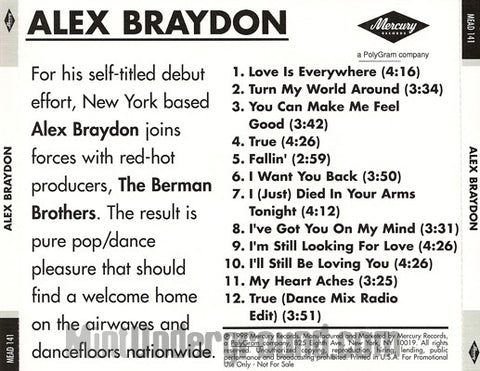 Alex Braydon: Alex Braydon: CD