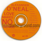 Alexander O'Neal: Love Makes No Sense: CD