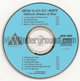 Artie Blues Boy White: Different Shades Of Blue: CD