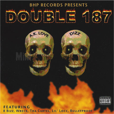 BHP/B.H.P./Black Hole Posse: Double 187: CD