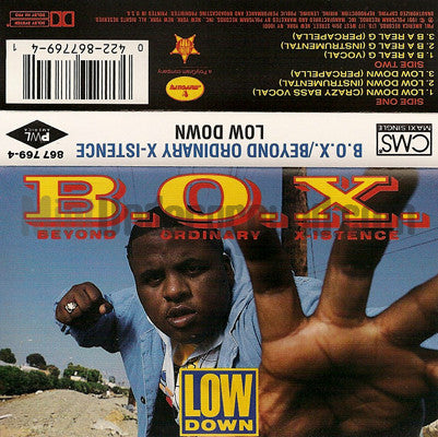 B.O.X./Beyond Ordinary Xistence: Low Down: Cassette Single