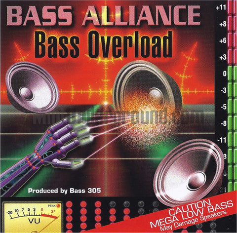 Bass Alliance: Bass Overload: CD