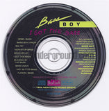 Bassy Boy: I Got The Bass: CD