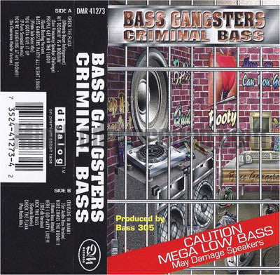 Bass Gangsters: Criminal Bass: Cassette