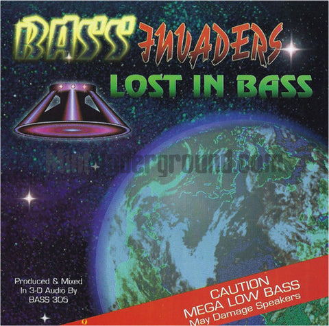 Bass Invaders: Lost In Bass: CD