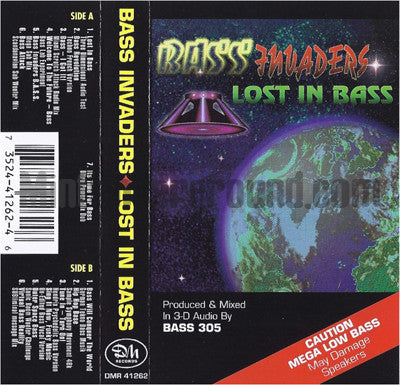 Bass Invaders: Lost In Bass: Cassette