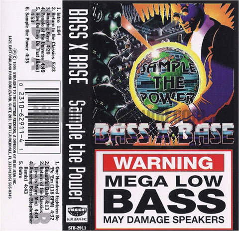 Bass X Base: Sample The Power: Cassette