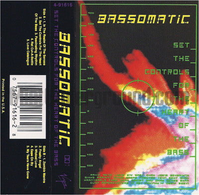Bassomatic: Set The Controls For The Heart Of The Bass: Cassette